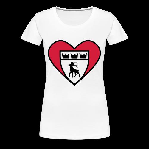 TSGHerz - Frauen Premium T-Shirt