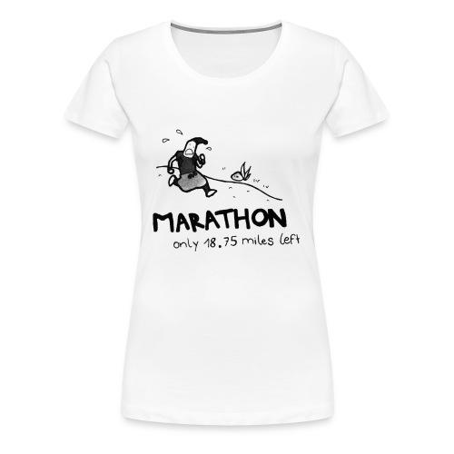 marathon-png - Koszulka damska Premium