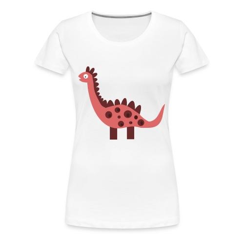Dino pink - Women's Premium T-Shirt