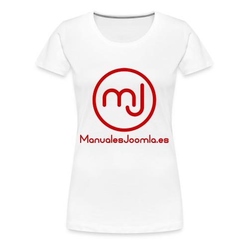 ManualesJoomla.es - Camiseta premium mujer