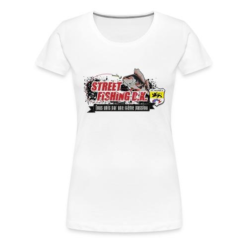 StreetFishingDK.png - T-shirt Premium Femme