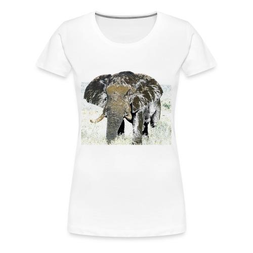 Elephant - Frauen Premium T-Shirt
