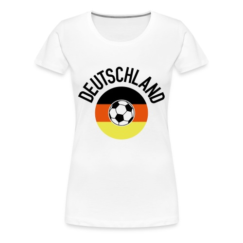 Deutschland01WM2018 - Frauen Premium T-Shirt