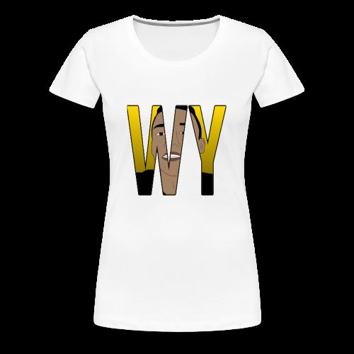 WaaromYannick Regular T-Shirt - WY - Vrouwen Premium T-shirt