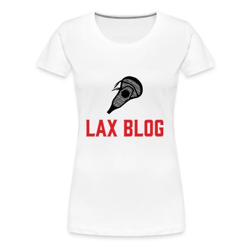 LaxBlog - Women's Premium T-Shirt