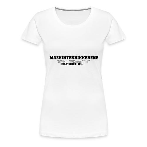 Maskin Teknikkerene T-Skjorte for Menn - Premium T-skjorte for kvinner