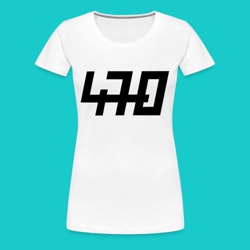 470er Bootsklasse - Frauen Premium T-Shirt
