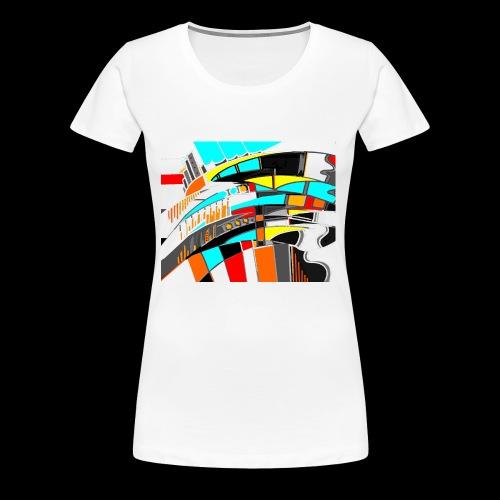 spacecity 18 W - T-shirt Premium Femme