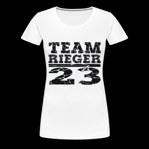 TEAM RIEGER - 23 - Frauen Premium T-Shirt