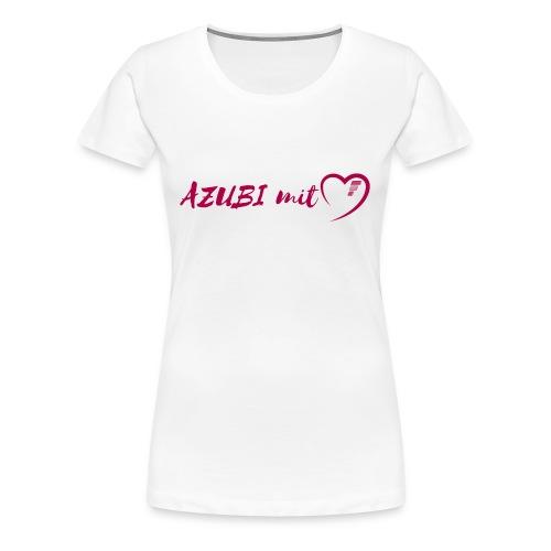 Azubi mit Herz - Frauen Premium T-Shirt