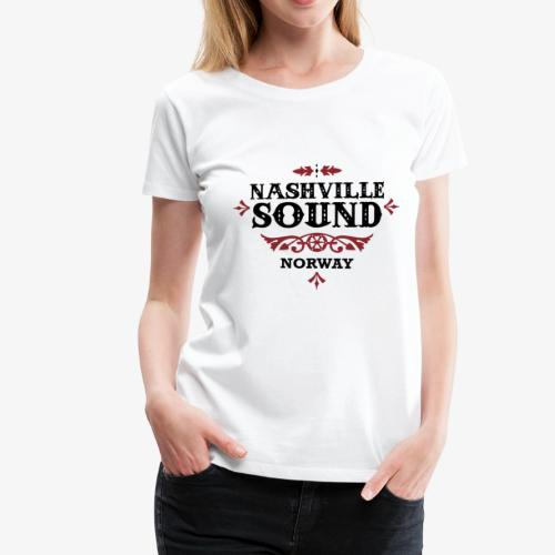 Bli med på konsert med Nashville Sound! - Premium T-skjorte for kvinner