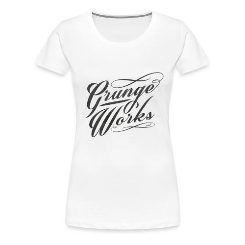 GrungeWorks Basic Unisex Hoodie - Naisten premium t-paita