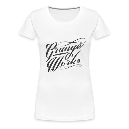 GrungeWorks Basic Women T-shirt - Naisten premium t-paita