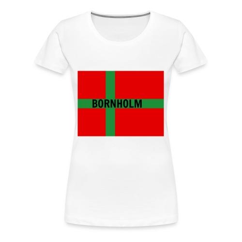 BORNHOLM - Dame premium T-shirt