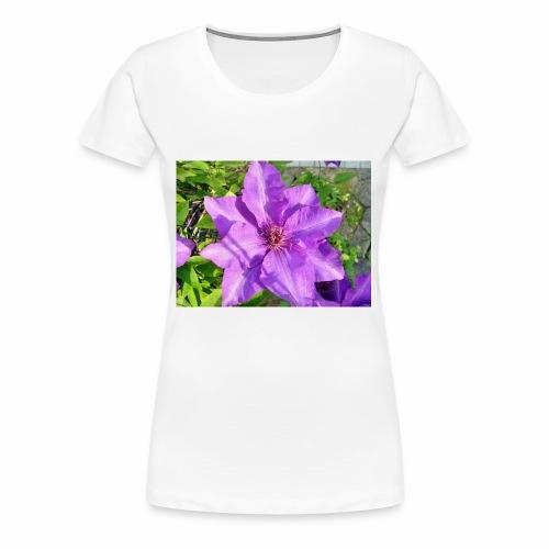 Die klematis - Frauen Premium T-Shirt
