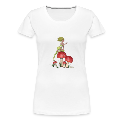 Lutine aux champignons - T-shirt Premium Femme