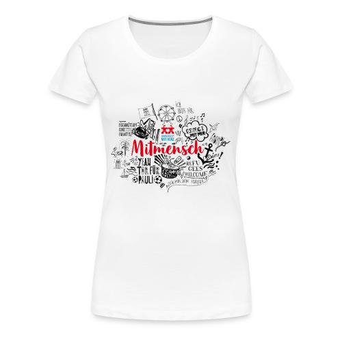Motiv Mentoring - Frauen Premium T-Shirt