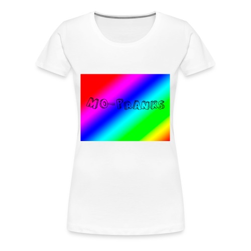 MO-Pranks rainbow - Premium T-skjorte for kvinner
