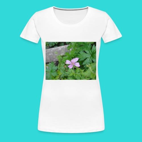 shirt bloem - Vrouwen Premium T-shirt