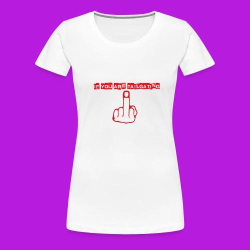 tailgating_red - Women's Premium T-Shirt