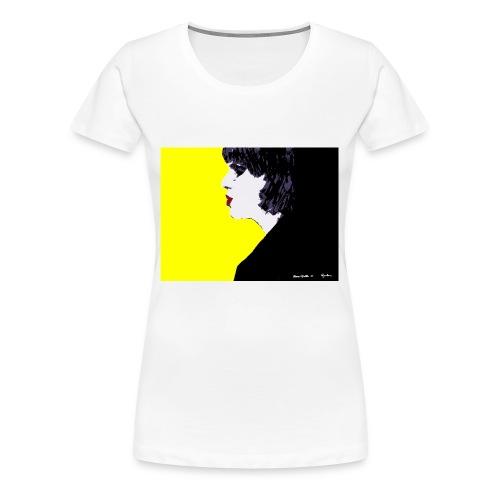 pazzogiallo 2 - Maglietta Premium da donna