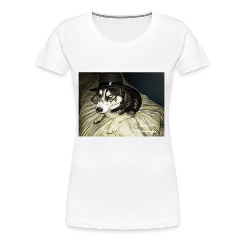 Husky möchte auch süßes oder saures - Frauen Premium T-Shirt