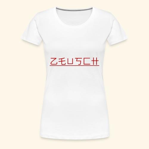 Zeusch Logo - Vrouwen Premium T-shirt