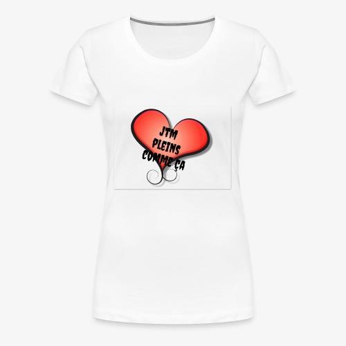 saint valentin coeur amour - T-shirt Premium Femme
