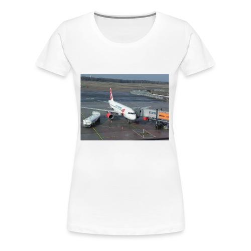 Czech Airlines A320 - Frauen Premium T-Shirt