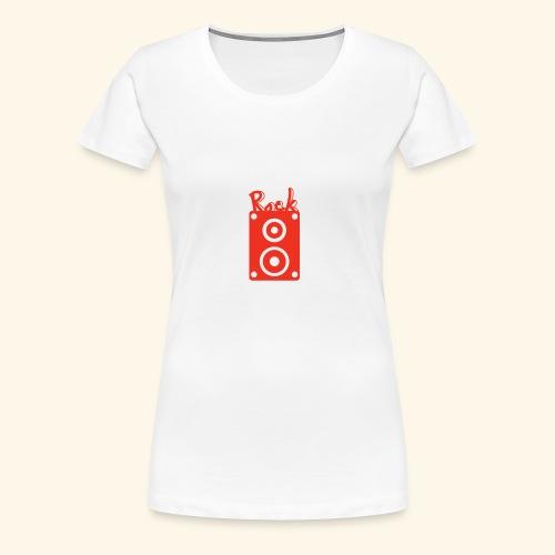 Rock Box - Frauen Premium T-Shirt