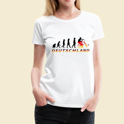 Radball   Evolution Deutschland - Frauen Premium T-Shirt