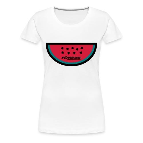 #Unnerum Wassermelone - Frauen Premium T-Shirt