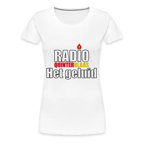 Radio Quinterklaas - Vrouwen Premium T-shirt