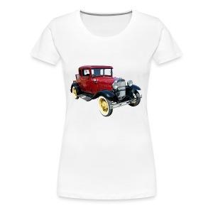 Car - Premium T-skjorte for kvinner