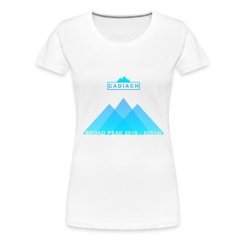 Cadiach Broad Peak 2016 - Mujer - Camiseta premium mujer