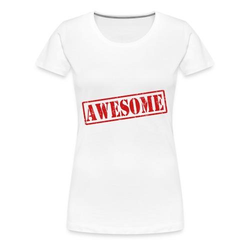 awesome - Vrouwen Premium T-shirt