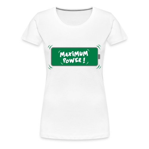 POWER MAX - T-shirt Premium Femme