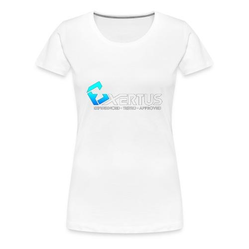 Exertus Standard Hoodie - Women's Premium T-Shirt