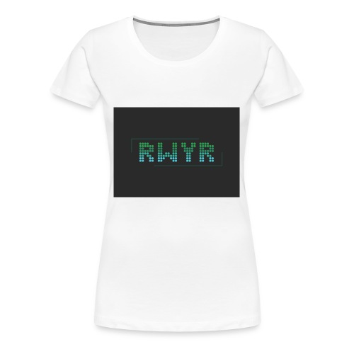 RWYR Borst Black - Vrouwen Premium T-shirt