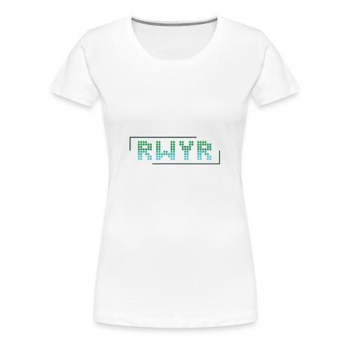 RWYR Normal White - Vrouwen Premium T-shirt