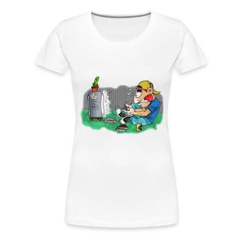 BoarderMax Gamer - Frauen Premium T-Shirt
