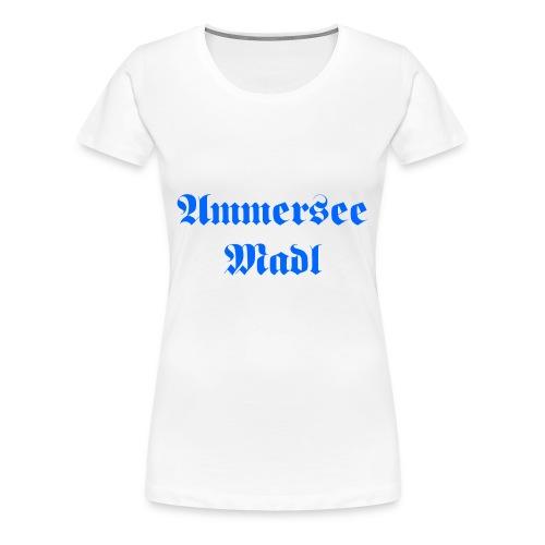 Ammersee Madl - Frauen Premium T-Shirt