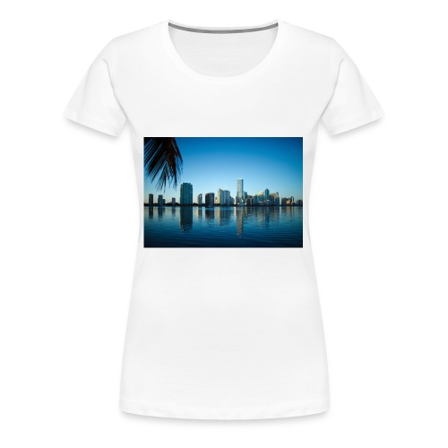 miami building very beutiful - T-shirt Premium Femme