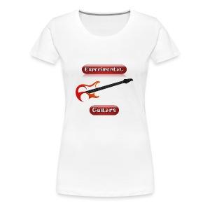 Experimental Guitars logo - Japanese style - Women's Premium T-Shirt