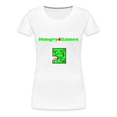 A mosquito hungry4games - Women's Premium T-Shirt
