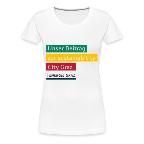 Energie Graz Vision - Frauen Premium T-Shirt