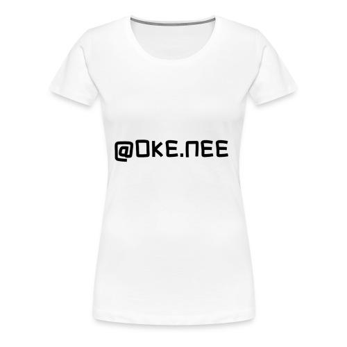 OKE_NEE-png - Vrouwen Premium T-shirt