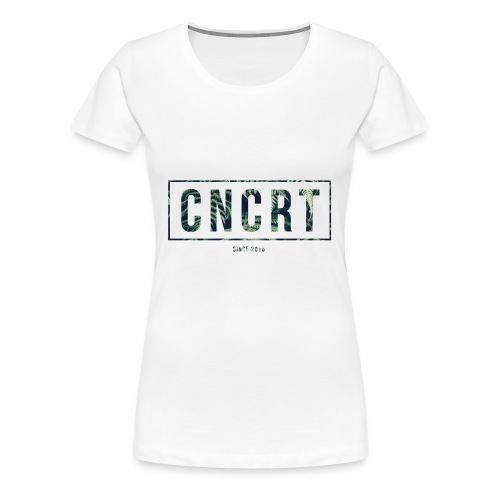 CNCRT white men sweater (Plant Print) - Vrouwen Premium T-shirt