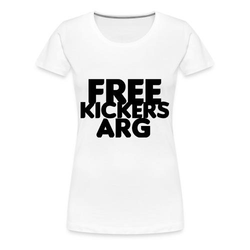 T SHIRT FREEKICKERSARG - Camiseta premium mujer