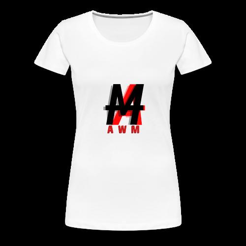 AWM Logo T-Shirt (WOMEN) - Women's Premium T-Shirt